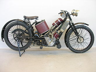 The Scott Motorcycle Company - 1923 Scott Squirrel 486 cc