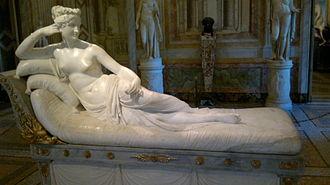 Pauline Bonaparte - Venus Victrix (Canova)