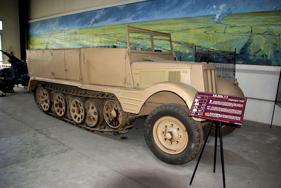 SdKfz 11 in the Musée des Blindés.