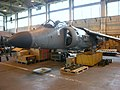 Sea Harrier being reduced to produce (3369431573).jpg