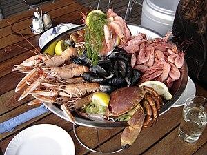 Floribbean cuisine - A seafood dish