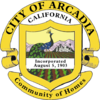 Official seal of Arcadia, California