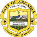 Seal of Arcadia, California.png