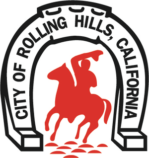 Rolling Hills, California - Image: Seal of City of Rolling Hills, California