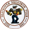 Seal of Destroyer Squadron 4 (1959).png
