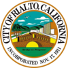 Official seal of Rialto, California