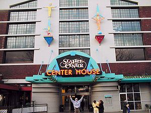 Seattle Center - Center House, Seattle Center.