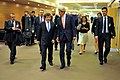 Secretary Kerry, Turkish Foreign Minister Davutoglu Walk to Meeting at NATO Headquarters in Brussels (14504057462).jpg