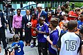 Secretary Kerry With Young Athletes and Sports Envoys Scurry, Jones and Sanneh (13855995465).jpg
