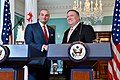 Secretary Pompeo and Georgian Prime Minister Bakhtadze Deliver Statements to the Press (48044936162).jpg