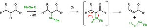Organoselenium chemistry - Scheme 2. Selenoxide elimination of carbonyl compounds