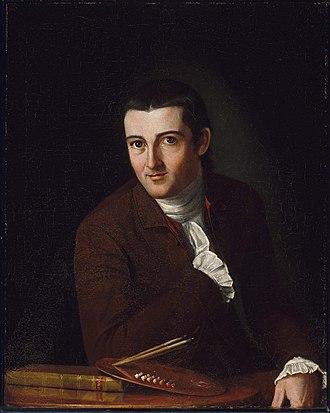 1777 in art - John Trumbull's self-portrait
