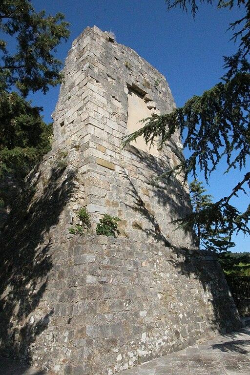Castello Rocca Aldobrandesca a Rocchette di Fazio, frazione Semproniano