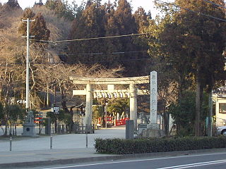 Shinto shrines in Miyagi Prefecture, Japan