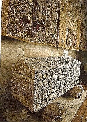 Abbey of Santa María la Real de Las Huelgas - One of the many royal tombs at Las Huelgas