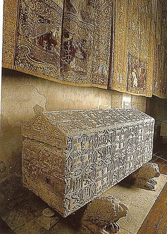Abbey of Santa María la Real de Las Huelgas - One of the many royal tombs at Las Huelgas