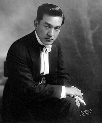 Sessue Hayakawa - Hayakawa in 1918