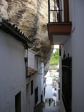 Setenil de las Bodegas - Street in Setenil