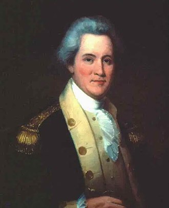John Sevier - Portrait of Sevier by Washington B. Cooper