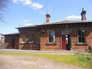 Battlefield Line Railway - The Shackerstone Station Building