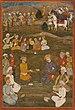 Shah Abbas the Great receiving the Mughal ambassador Khan'Alam in 1618.jpg