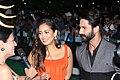 Shahid Kapoor and Mira Rajput at IIFA 2017.jpg