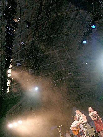 Rainforest World Music Festival - Shannon band performing during RWMF 2005