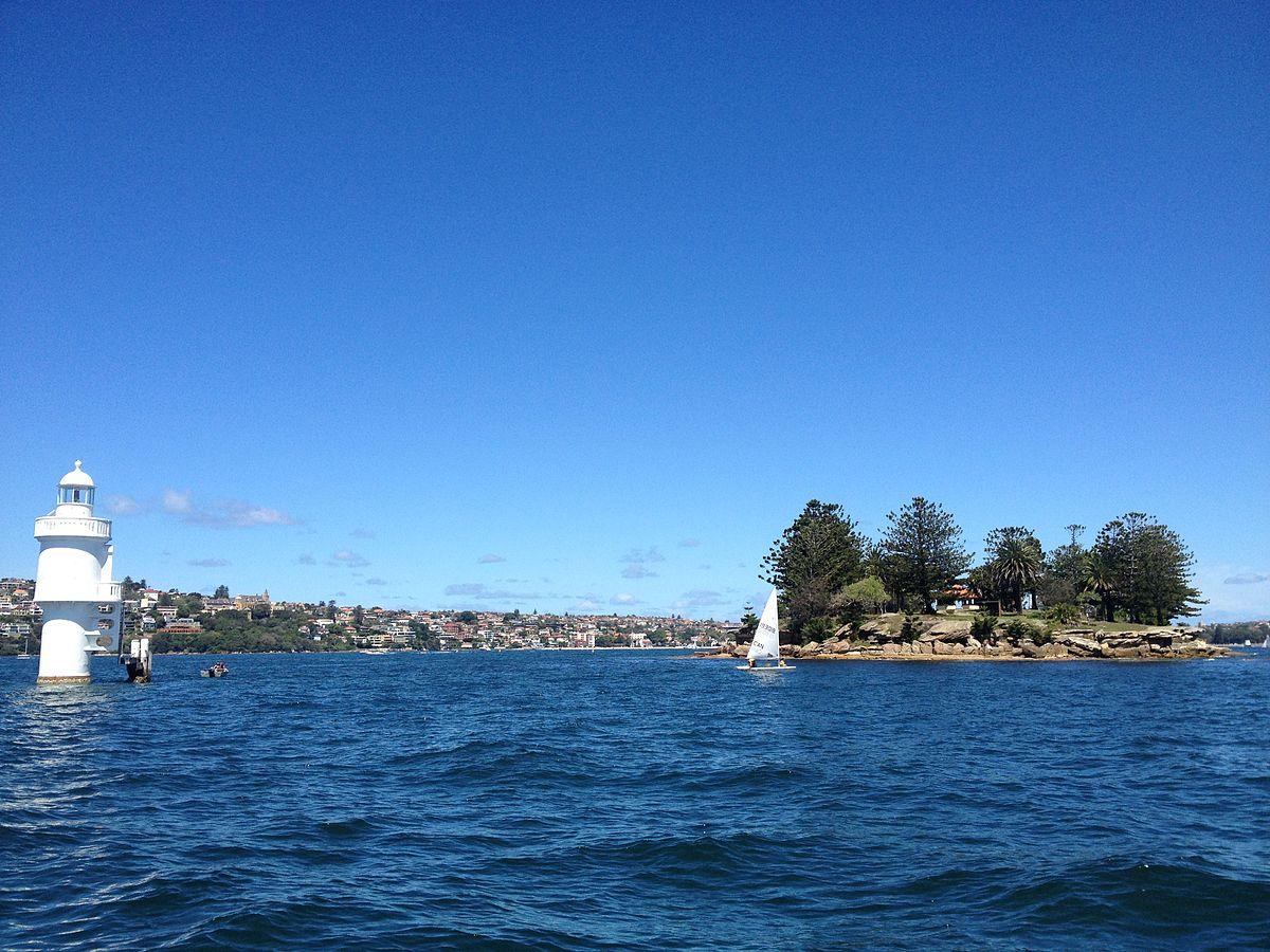 Clark Island Sydney Harbour New Years Eve