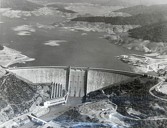 Federal Power Commission v. Sierra Pacific Power Co. - The availability of low cost power from the newly constructed Shasta Dam resulted in a 15-year power supply contract with a low rate in 1948, which the Supreme Court held could not later be unilaterally changed by the supplier.