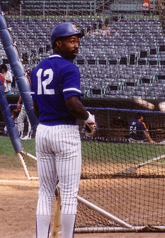 Chicago Cubs - Shawon Dunston was the Cubs shortstop for 10 years.