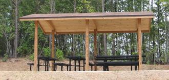 Shelter (building) - Northeast Park Picnic shelter