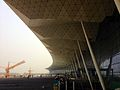 Shenyang Taoxian International Airport T3 under construction.jpg