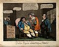 Sheridan presented as Doctor Pizzarro administering medicine Wellcome V0011307.jpg