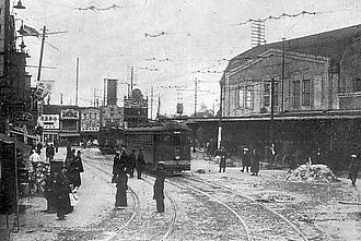 Hachikō - Shibuya Station as it was in the Taisho and Pre-war Showa eras (1912–1945)