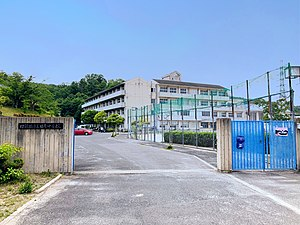 Shijonawate City Tawara junior high school.jpg