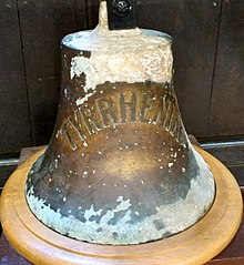 220px Ship%27s Bell of the SS Tyrrhenia%2C St Katharine Cree