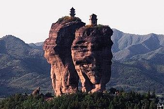 Shuang ta mountain, chengde