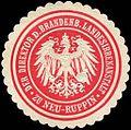 Siegelmarke Der Direktor der Brandenburgischen Landesirrenanstalt zu Neu - Ruppin W0214909.jpg
