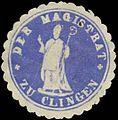 Siegelmarke Der Magistrat zu Clingen W0385097.jpg