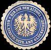 Siegelmarke Königliche Eisenbahn Betriebs Amt Glückstadt - Eisenbahn Direktions Bezirk Altona W0220947.jpg