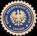 Siegelmarke Königliche Rheinstrombau Direction - Coblenz W0216067.jpg