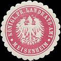 Siegelmarke K.Pr. Landrats-Amt Meisenheim W0381970.jpg