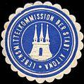 Siegelmarke Lebensmittelkommission der Stadt Altona W0220978.jpg