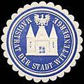 Siegelmarke Magistrat der Stadt Wittenberge W0235495.jpg