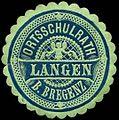 Siegelmarke Ortsschulrath - Langen bei Bregenz W0261719.jpg