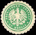 Siegelmarke Provinzial - Irren - Anstalt zu Merzig W0226889.jpg