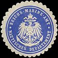 Siegelmarke Reichs - Marine - Amt - Nautisches Departement W0239792.jpg