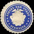 Siegelmarke Siegel der Stadt - Strelitz W0239532.jpg