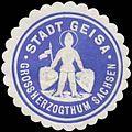 Siegelmarke Stadt Geisa Gr. Sachsen W0356323.jpg