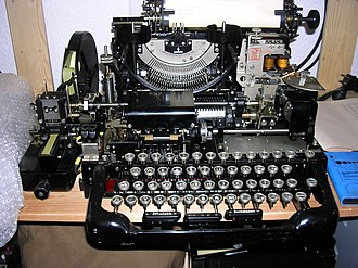 Teleprinter - Siemens t37h (1933) without cover